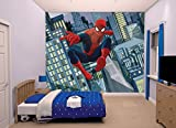 Walltastic 43824 Ultimate Spiderman, Tapete, Wandbild, Paper, bunt, 52,5 x 7 x 18,5 cm
