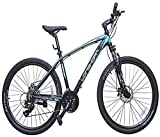 #6: Longhorn Hover 26 Inches 21 Speed LHHR26BKBL Mountain Cycle (Black, Blue)