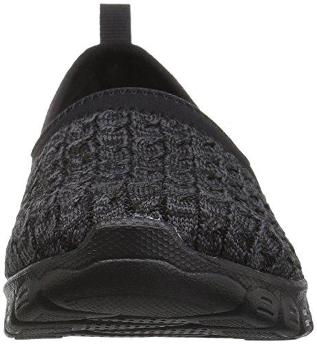Skechers Ez Flex 3.0-Snugbug, Allenatori Donna Nero (Black)