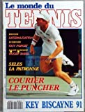 MONDE DU TENNIS (LE) [No 124] du 01/04/1991 - KEY BISCAYNE 91 - LATERALISATION - GUY FORGET - ROGER ZABEL - SELES LA PATRONNE - FORGER - MUSTER