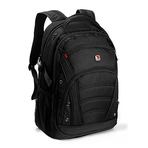 SEAGULL Black Laptop Backpack for up to 15.6 inch laptops/1680D High Quality Fabric/Hold up to 30KG/Perfect Custom Sleeve Fit for your Laptop/100% Money Back Guarantee/48*33*22cm All Black