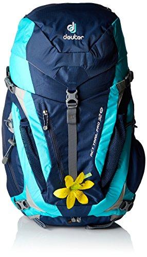 Imagen de deuter act trail pro  para montaña, mujer, azul midnight / mint , 32 l