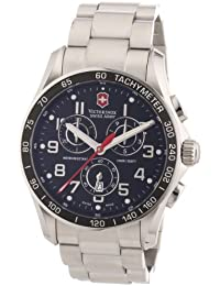 Victorinox Herren-Armbanduhr XL Classic Analog Edelstahl 241443