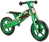 Nicko Children's Wooden Balance Bike - Running Bike - First Bike - Training Bike
