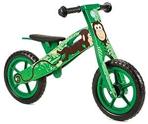 Nicko NIC855 - Bicicleta de Equilibrio, Color Verde, Talla única