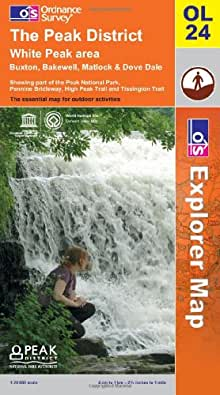 The Peak District (OS Explorer Map)