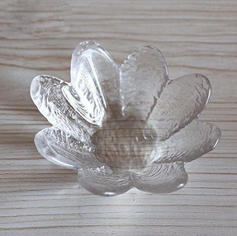 Haply Petite carré Plastique Mini dégustation échantillon Assiettes clair mise
