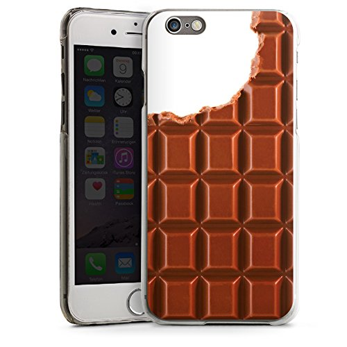 Apple iPhone 5s Housse Étui Protection Coque Chocolat Chocolat Choco CasDur transparent