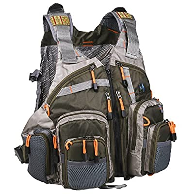 Maxcatch Fly Fishing Vest Pack (Fishing Vest/Fishing Backpack/Fishing Sling Pack) from Maxcatch