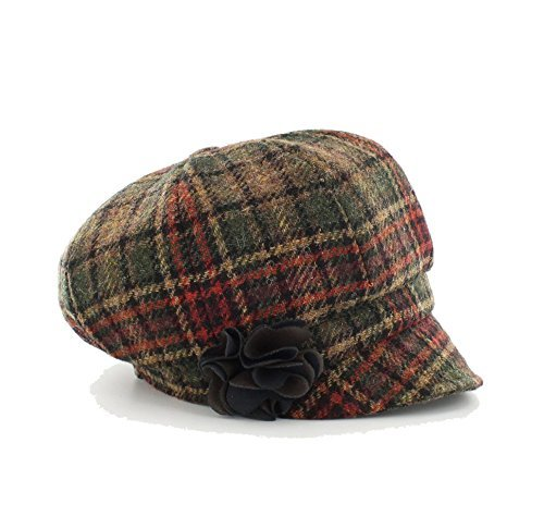 Mucros Weavers Women s Irish Made Newsboy Cap by (Color ... ffd56adbb424