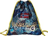 Borsa Sacca Palestra Uomo Donna Napapijri Bag Men Woman North Cape Gym BackPack N3R22-Blu