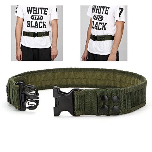 YAHILL® Seguridad Cinturón Táctico Seguro Combate