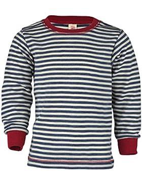 Engel Natur, Kinder Shirt / Pullover, 100% Wolle (kbT)