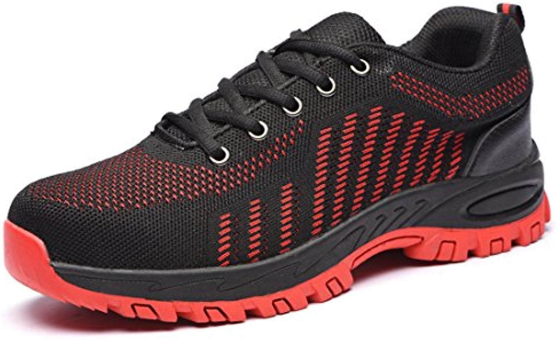 DANDANJIE Männer und Frauen Sicherheitsschuhe Anti Smashing Anti Rutsch Schuhe Paar Wanderschuhe Wanderschuhe