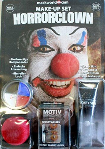 n Make-up Set, SFX-Komponenten Special Effects Like Hollywood für Zombies, inkl. umfassender Anleitung und Schminktipps ()