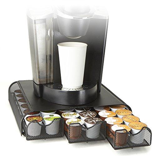 Mind Reader 'Anchor' Kaffeepod Dreifachschublade für 36 Keurig K-Cup / Verismo / Dolce Gusto / CBTL...