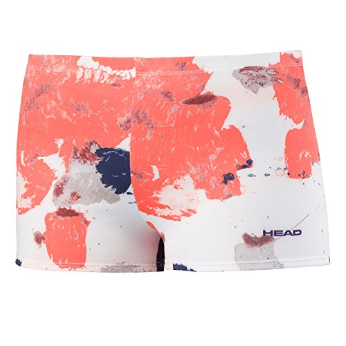 HEAD Damen Vision Graphic Panty Womens Hose, Korallenrot, M