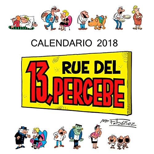 Rue del 13, Percebe. Calendario 2018 (Calendarios y agendas)