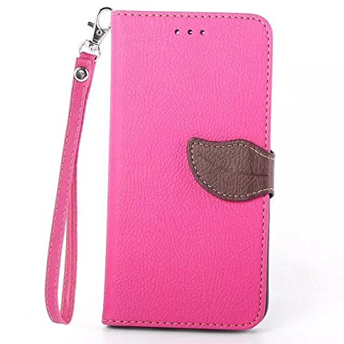 Nutbro [iPhone 6/6S] iPhone 6 Case,iPhone 6 Wallet Case,[Wallet] Leather Cover [Flip Cover] with Foldable Stand, Pockets for ID, Credit Cards for iPhone 6/6S Pink