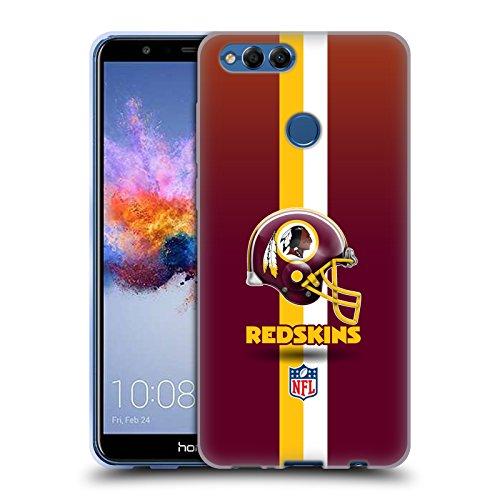 Offizielle NFL Helm Washington Redskins Logo Soft Gel Hülle für Huawei Honor 7X Washington Nationals Helm