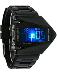 Shree Enterprise Black Digital Watch For Boys   Casual Watch   Classic Watch Looks Fabulous   Black Dial   Digital...
