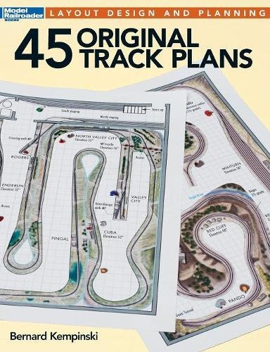 45 Original Track Plans (Model Railroader)
