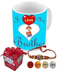Aart rakshabandhan bhai bahan ka pyar | rakshabandhan gift for brother | rakhi gift for sister | gift for rakshabandhan | gift for rakhi Superior quality Ceramic Mug Capacity: (350 ML) for Raksha Bandhan Gifts.
