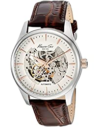 KENNETH COLE - Montre KENNETH COLE Cuir - Homme - 42.5 mm