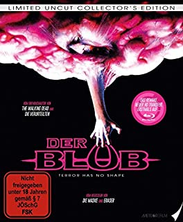 Der Blob (1988) (Limited Blu-Ray Mediabook) [Limited Edition] [Collector's Edition]