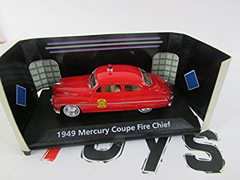 voiture 1/43 - mercury coupé fire chief - 1949 motor max