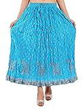 Magnus 100% Cotton Blue Skirt (DVSKT3004...