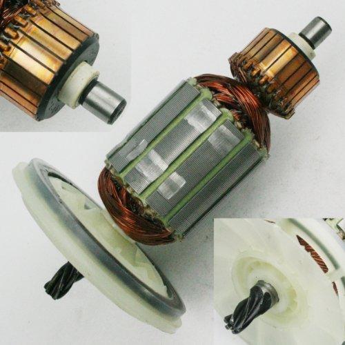 Anker Rotor mit Kollektor und Lüfterrad für Motor von Hilti Bohrmaschine Bohrhammer TE 54, TE 55, TE 504, TE 505 TE54 TE55 TE504 TE505 Ersatzteil
