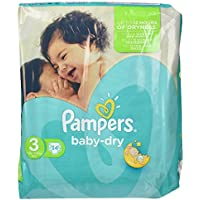 Pampers Baby-Dry Midi 3 34pieza(s) - Pañal (Universal, Disposable
