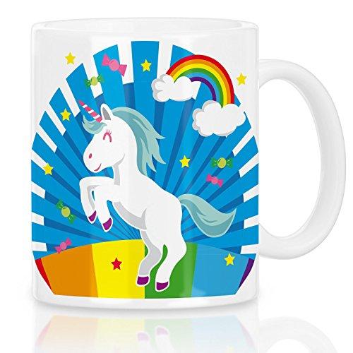 Kostüm Schwulen Einhorn - style3 Unicorn Candy Einhorn Motivtasse Regenbogen