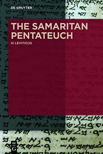 Leviticus: Volume III
