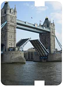 Tower Bridge Opening White Back Cover Case for Amazon Kindle Fire 7 HD