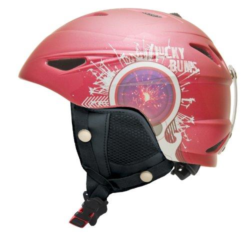 lucky-bums-serie-casco-de-esqu-alpino-petardo-infantil-color-raspberry-firecracker-tamao-54-55-cm