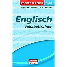 Englisch - Vokabeltrainer 5.-10. Klasse