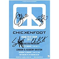 Chickenfoot Signiert Autogramme 21cm x 29.7cm Plakat Foto
