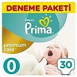 Pampers - Windeln Premium Care 0 Neugeborene (bis 2,5 kg) - 30 Stück