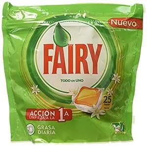 Fairy capsule per lavastoviglie 7 confezioni da 25 for Amazon lavastoviglie