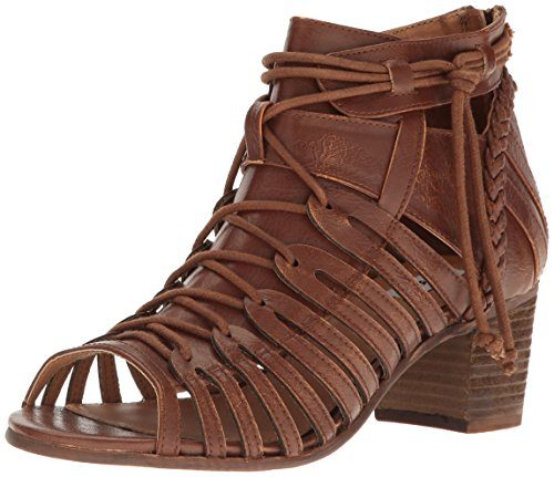 Not Rated Cupertine Damen Kunstleder Gladiator Sandale Tan