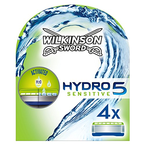 Wilkinson Sword Hydro 5 Sensitive Rasierklingen, 4 Stück