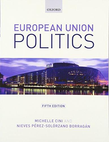 European Union Politics por Michelle Cini