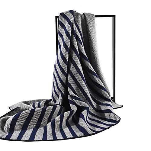 Überwurf Decke für Bett Sofa Stuhl natur 100Prozent reiner Lammwolle, Picknick Decke Plaid Decke, 140* 170cm, von cosy-l (Lammwolle Überprüfen)