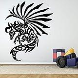 ljradj Pegasus Tattoo Pferd Wandaufkleber Für Wohnzimmer