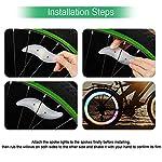 TOMSHOO-Luce-Bicicletta-LED-Ricaricabile-Set-Luce-Bici-LED-Light-USB-Impermeabile-Set-Fanali-Anteriori-Posteriori-Bike-Lampadine-con-2-Luce-del-Raggio-della-Bici-5-modalit-per-Bici-Strada-Montagna