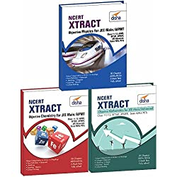NCERT Xtract – Objective Physics, Chemistry, Mathematics for JEE Main, JEE Adv, Class 11/ 12, BITSAT, State PETs (Set of 3 Books)