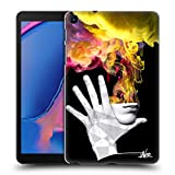 Head Case Designs Ufficiale LouiJoverArt La Fuga Fuoco E Fumo Cover Dura per Parte Posteriore Compatibile con Samsung Galaxy Tab A 8 (2019)