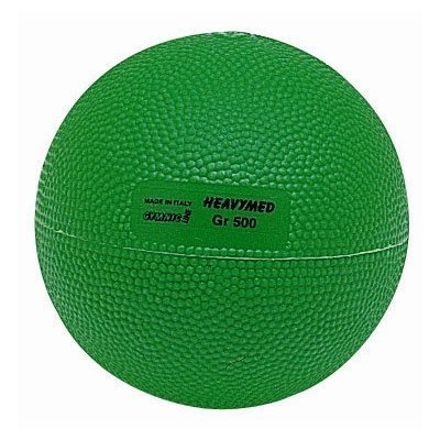 TMI 9705 Heavymed Ball 4 Inch - Green - 1-2 Pounds by Gymnic (Ball Tmi)